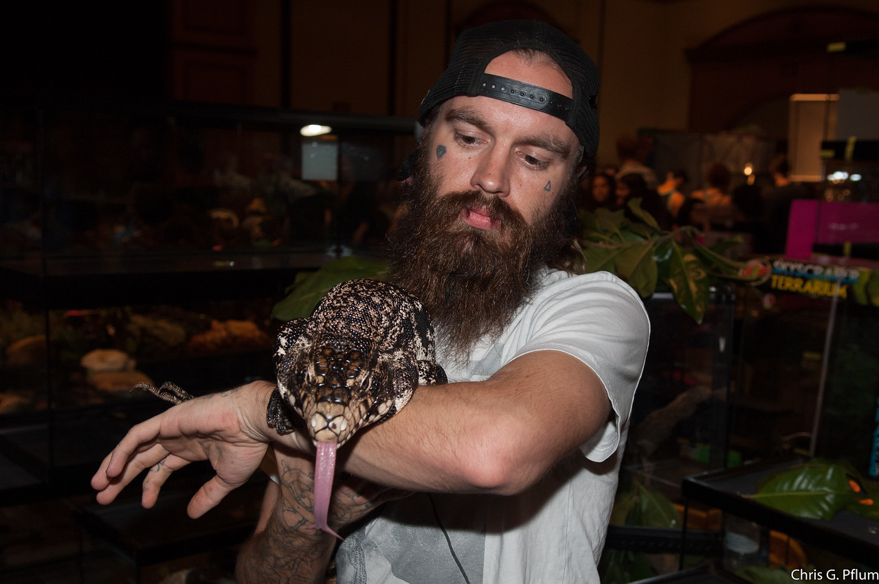 Reptile Show ar the Texas Station Casino