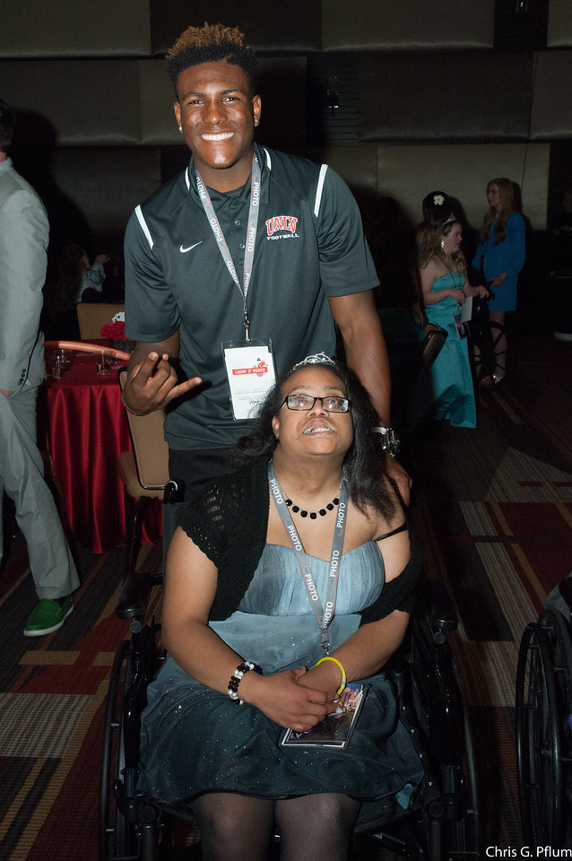 JOY PROM Las Vegas is a full-scale, prom for teenagers and adult individuals with cognitive and physical impairments, where every guest is celebrated and accepted. The invited guests are hosted complimentary. The experience recognizes the individual guest first and then their disability, while providing a positive environment free of judgment or negativity.
