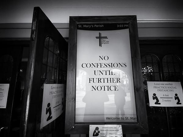No Confessions