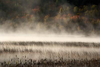 Algonquin;Algonquin;autumn;Fog;Autumn;Flatwater