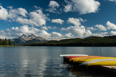 Malign Lake, Jasper National Park