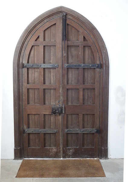 CHURCH DOOR by MALCOLM GILLESPIE