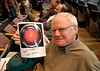 Joining the Orange County Astronomers.  Knowledge of sci-fi movie trivia secured the HAL 9000 picture.