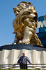 Standing in front of the MGM Grand Lion in Las Vegas. I've been to Vegas a few times and I generally like the over-the-top craziness of the place. This time we were just passing through and were a little to zonked after 4000 km on the road to enjoy the Vegas vibe. We also made a bad hotel choice. Word to the wise - stay out of the Tropicana. The next time I see the joint I hope it's on TV enjoying explosive demolition.