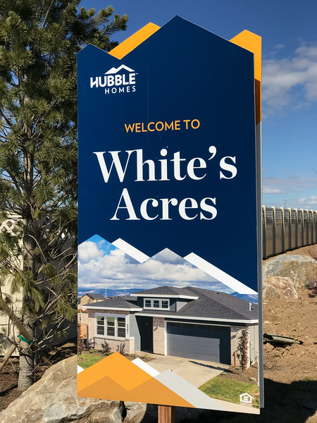 """Oops, somebody didn't get the memo about """"White Supremacy."""" Of course, the name of this new subdivision has nothing to with race. It probably derives from the name of the farm or ranch that the houses are being built on. Of course, that land was stolen from native tribes that spent thousands of years stealing and re-stealing the land from other tribes.  The diversity racket has jumped the shark: intersectionality and ten-thousand genders were the final nails in that intellectually frivolous coffin."""