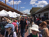 The farmer's market was packed. It's open on Tuesday and Saturday. We will have to check it out on Tuesday. I expect the midweek crowd will have more farmers and fewer yuppies.