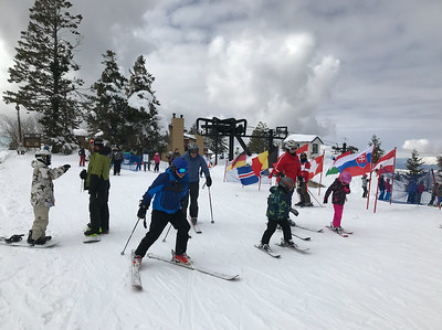 Bogus Basin is enjoying a fine winter. The other day the base exceeded 100 inches. This is only the second time since the 1940s that the snow has gotten that deep.
