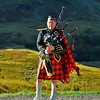 THE LONE PIPER by Colin Wright