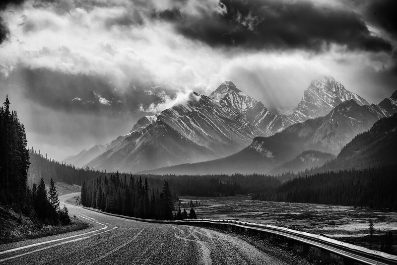 Following the Storm - Kananaskis Country