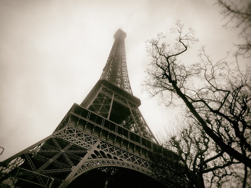 Vintage Eiffel Tower 2