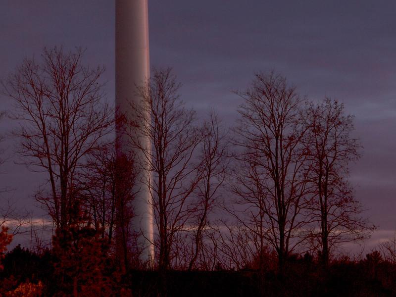 © 2014 Steve Schroeder - Turbine Shaft and Trees
