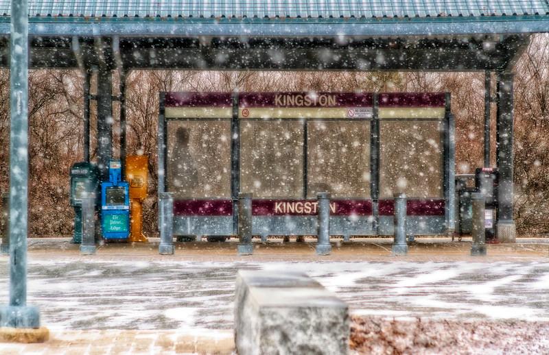 © 2014 Frank Hutnak - Kingston Train Station #3