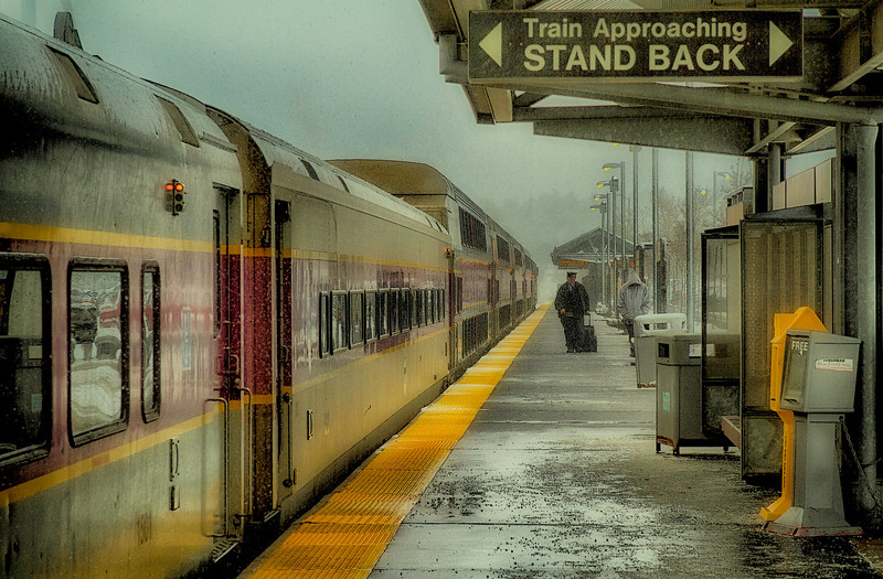 © 2014 Frank Hutnak - Kingston Train Station #1