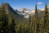 Rainy Pass, Cutthroat Pass - Corteo Peak and valley as seen from the Pacific Crest Trail