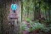 Snohomish, Lord Hill - Hiking sign that reads Midway Foodpath Hiker Only