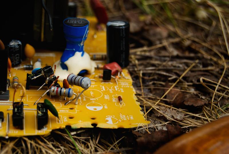 Circuitboard, Discarded