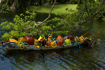 Miami, Florida - Fairchild Tropical Gardens - Chihuly Glass Exhibit