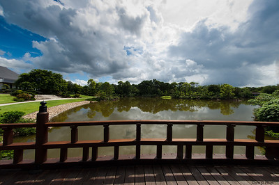 The Morikami Museum and Japanese Gardens is a center for Japanese arts and culture located west of Delray Beach in Palm Beach County, Florida, United States.