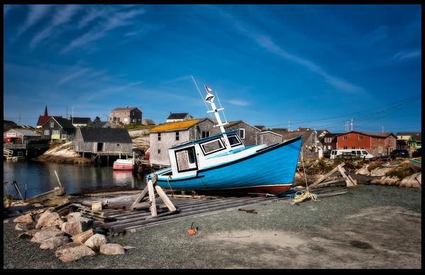 Peggy's Cove, Nova Scotia - HDR.