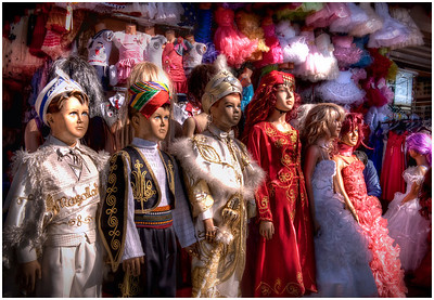 Outside the Grand Bazaar, Istanbul, Turkey - HDR.