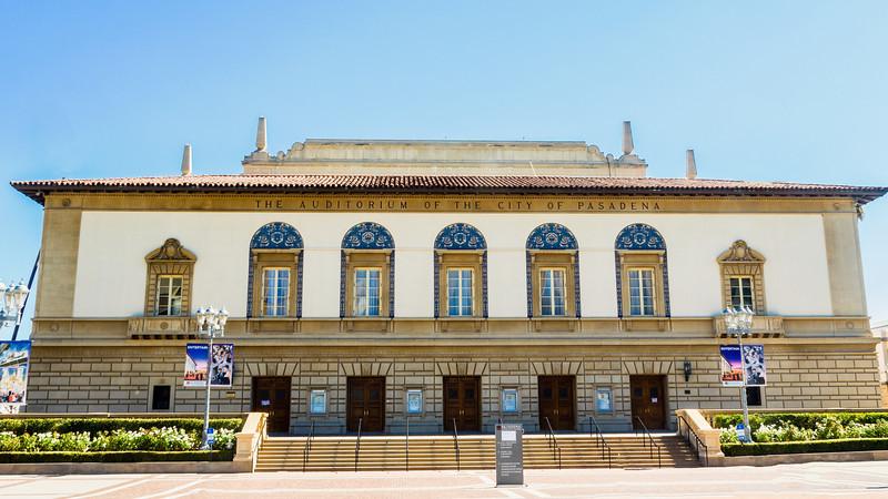 Auditorium of the City of Pasadena