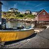 Peggy's Cove, Nova Scotia, Canada Boat #2 - HDR.