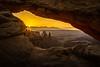 Sunrise Mesa Arch