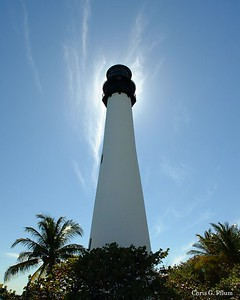 Cape Florida Lighthouse, Key Biscayne ,Florida