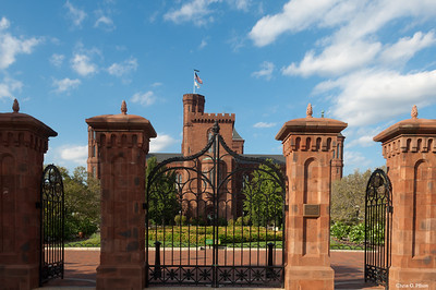 Built in 1847, the Castle was the first Smithsonian building.