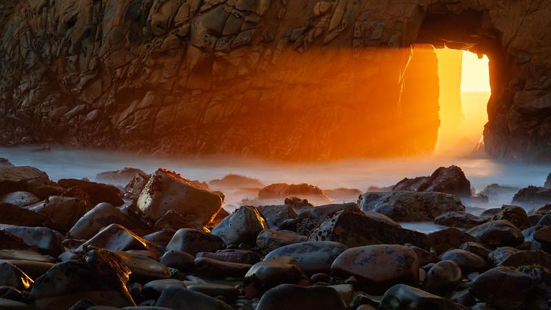 Portal of Golden Light