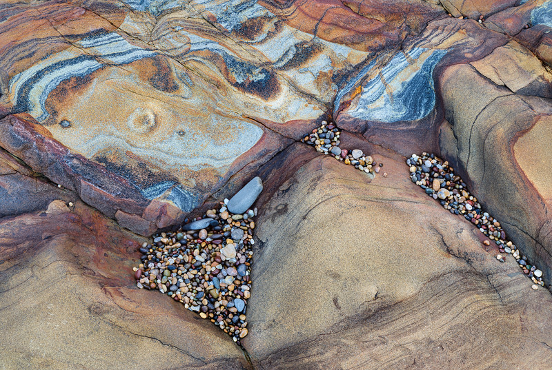 Rock Strata and Pebbles