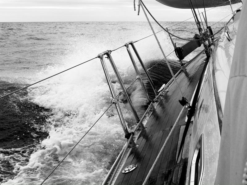 © 2014 Steve Schroeder - Under way in the Irish Sea