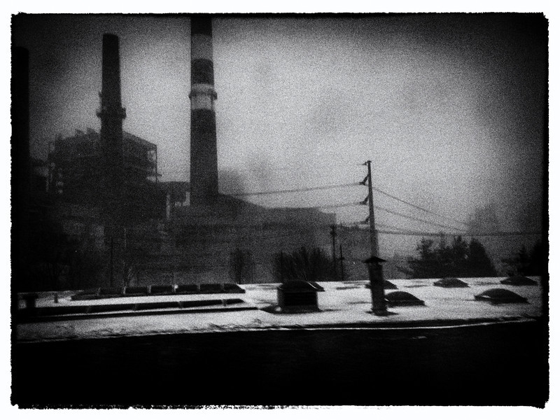 """© 2014 Myrna Walsh - """"Let fall upon it back the soot that falls from chimneys...."""""""