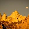 Moonrise over Whitney