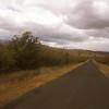 Rural road, Tasmania, Australia.