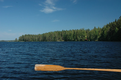 Rowboat, Finland.