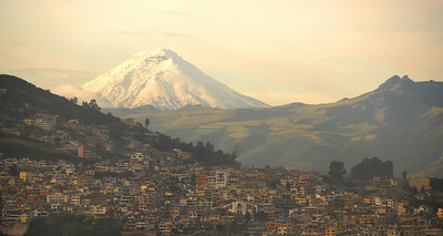Mt. Cotopaxi from Quito, Ecuador