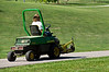 John Deere F935 riding mower sans the front end mower