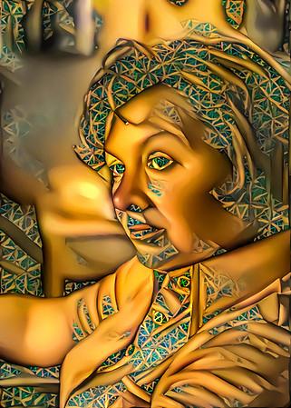Golden mother.