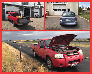 """We endured a weekend of car problems. My little pickup """"Red Neck"""" broke down going east on I84 just after the Malad Gorge bridge. I called a nearby auto repair shop to get the vehicle off the Interstate and see if they could fix it. My wife picked me up at the repair shop in our little car """"Baby Blue"""" and we continued to Bozeman. Shortly after leaving West Yellowstone Baby Blue's muffler went bad. So Baby Blue got a new muffler and Red Neck got a new alternator and battery. Cars are expensive money pits! No doubt you've read breathless articles about how millennials are abandoning horrid carbon dioxide emitting cars for ride-sharing and public transit. The implication is that they are doing this to save the planet. It's pure bullshit. Millennials, being the poorest of living generations, really don't have a choice. Cars are so damn expensive that anyone making less than sixty thousand per year should reconsider walking."""