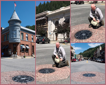"In an inspired bit of municipal self-promotion, Wallace Idaho has declared a city intersection ""The Center of the Universe"" and they dare you to prove it's not! This is perfect on so many levels. First, modern cosmology affords no privileged status to any point in the universe, so yeah, this is the center of the universe. Wallace is not claiming it's the only center just a center.  Second, if the gods are anything like the pricks in mythology, it wouldn't surprise me that they would make a humdrum intersection in a bump in the road deplorable infested town the center of the universe. Third, without the center, there aren't very many good reasons to visit Wallace which is, of course, the whole point of this point."