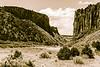 Diablo Canyon toned trailhead.
