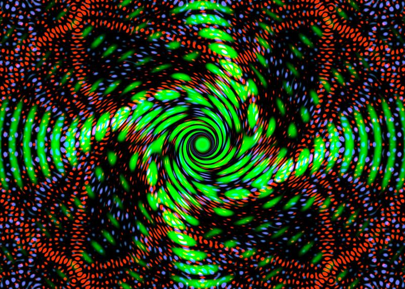 Cosmic filaments.