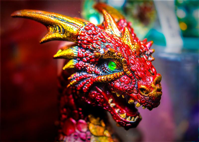 Green eyed dragon.