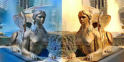Doubling down on Vegas mythology.