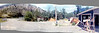 My first panorama.  In the summer of 1969 I stood in my grandfathers driveway and shot an entire roll of Instamatic film while turning around.  Almost thirty years later I scanned the old faded color prints and constructed this image with modern panorama software.  Never throw away your originals.