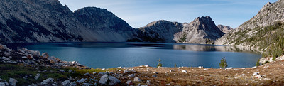 Sawtooth Lake viewed from the south.
