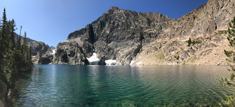 Goat Lake in mid-August.