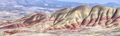 The Painted Hills are one of the most heavily photographed sites in Oregon. It's easy to see why.