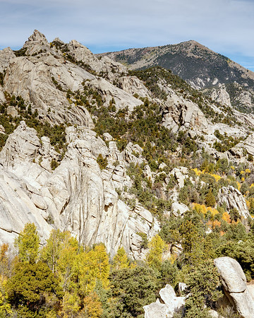 Autumn colors at the City of Rocks.